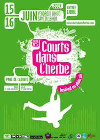 Affiche Courts dans l'Herbe 2007