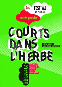 Affiche Courts dans l'Herbe 2009
